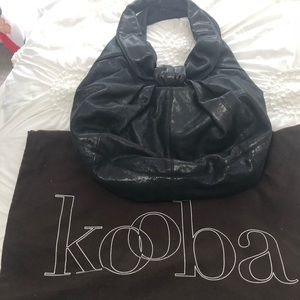 Black Kooba hobo bag